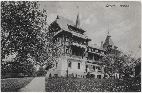 Chalet Marguerite. Postkarte, Verlag Goetz Nr. 2872, in Privatbesitz